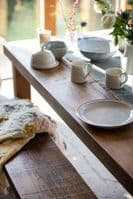 Chopwell Dining Table Chunky, Rustic Solid Wood Table